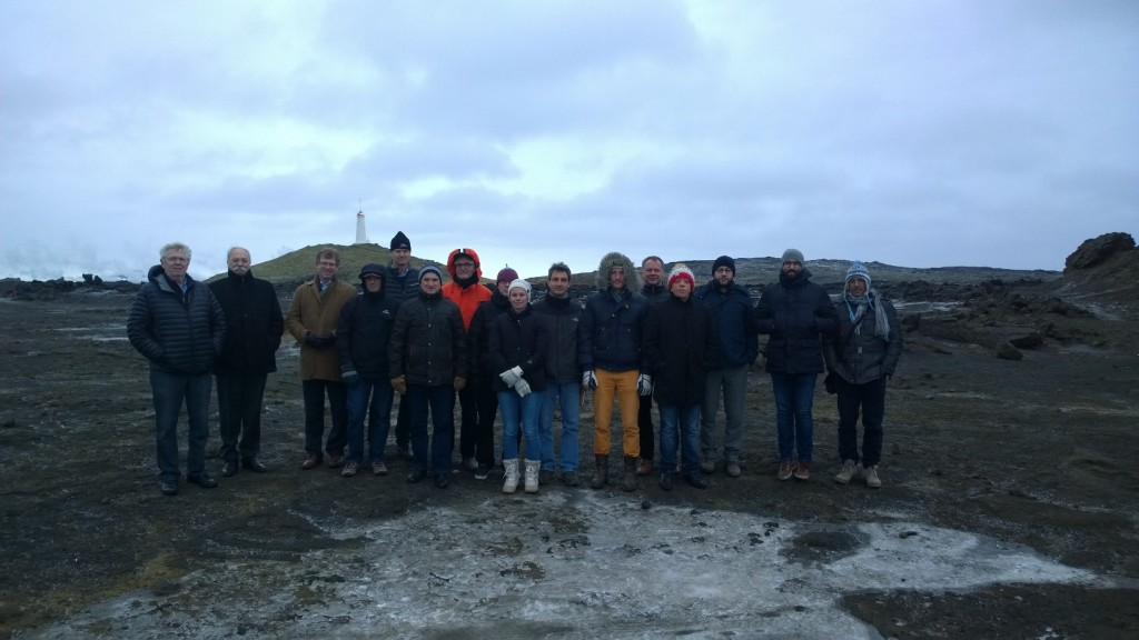 DEEPEGS team at Reykjanes