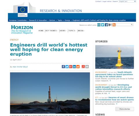 HORIZON 2020 magazine news on DEEPEGS