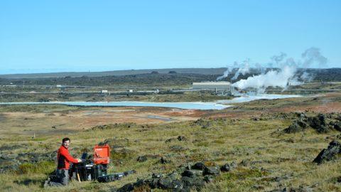 CSEM survey performed in Reykjanes