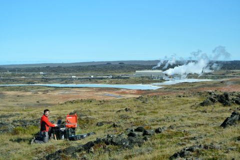 CSEM survey performed in Reykjanes
