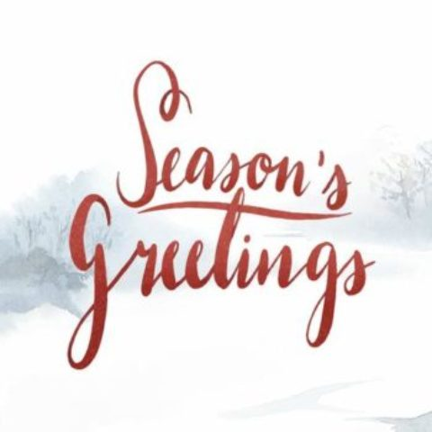 Season's Greetings and Cheers to New Year