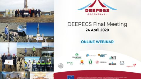 WEBINAR: DEEPEGS Final Meeting ahead in Reykjavik