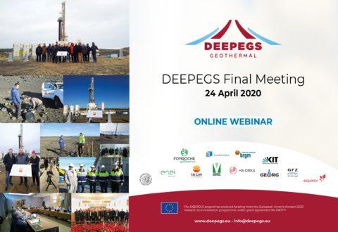 WEBINAR: DEEPEGS Final Meeting info