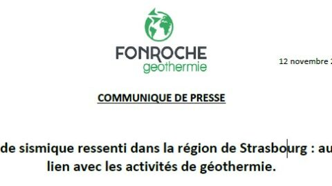 Episode sismique ressenti dans la région de Strasbourg