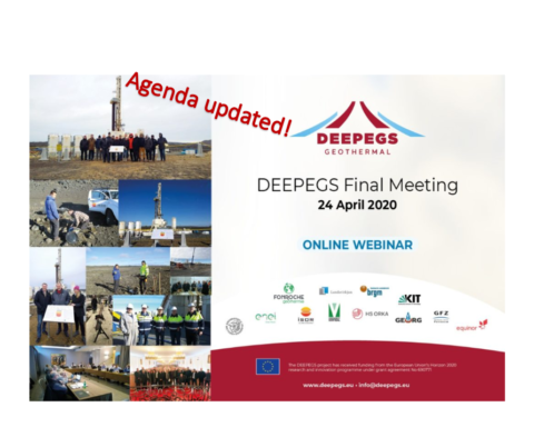 WEBINAR: DEEPEGS Final Meeting Agenda
